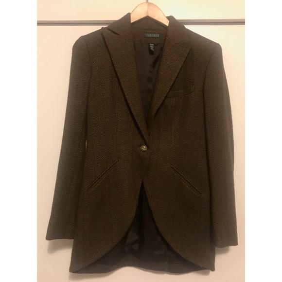 4a80c217a Ralph Lauren Jackets & Coats | Tweed Blazer Size 4 | Poshmark